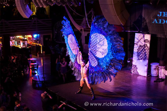 Jett Adore at the Show Me Burlesque Festival 2013.  ©Richard A. Nichols