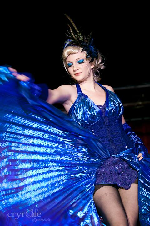 Lula Houp-Garou at the Show Me Burlesque Festival 2013.  ©Crystal Rolfe