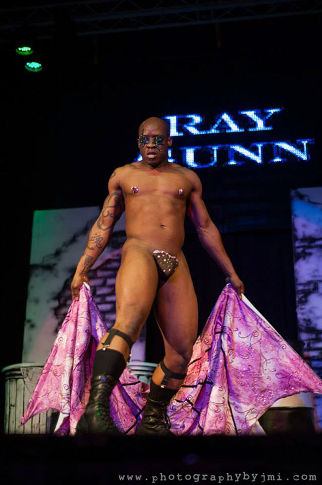Ray Gunn at the Show Me Burlesque Festival 2013. ©JMI Photo