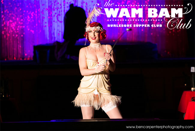 Lady Alex hosting Wam Bam Club at The Bloomsbury Ballroom.  ©Ben Carpenter Photography