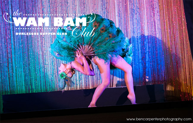 Ruby Deshabille at the Wam Bam Club at the Bloomsbury Ballroom.  ©Ben Carpenter Photography
