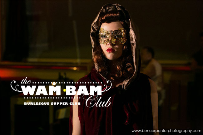 Scarlett Belle at the Wam Bam Club at the Bloomsbury Ballroom.  ©Ben Carpenter Photography