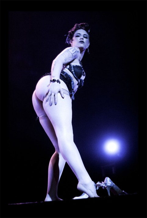 Lola Frost at the Vancouver International Burlesque Festival 2013. ©Jess Desaulniers-Lea