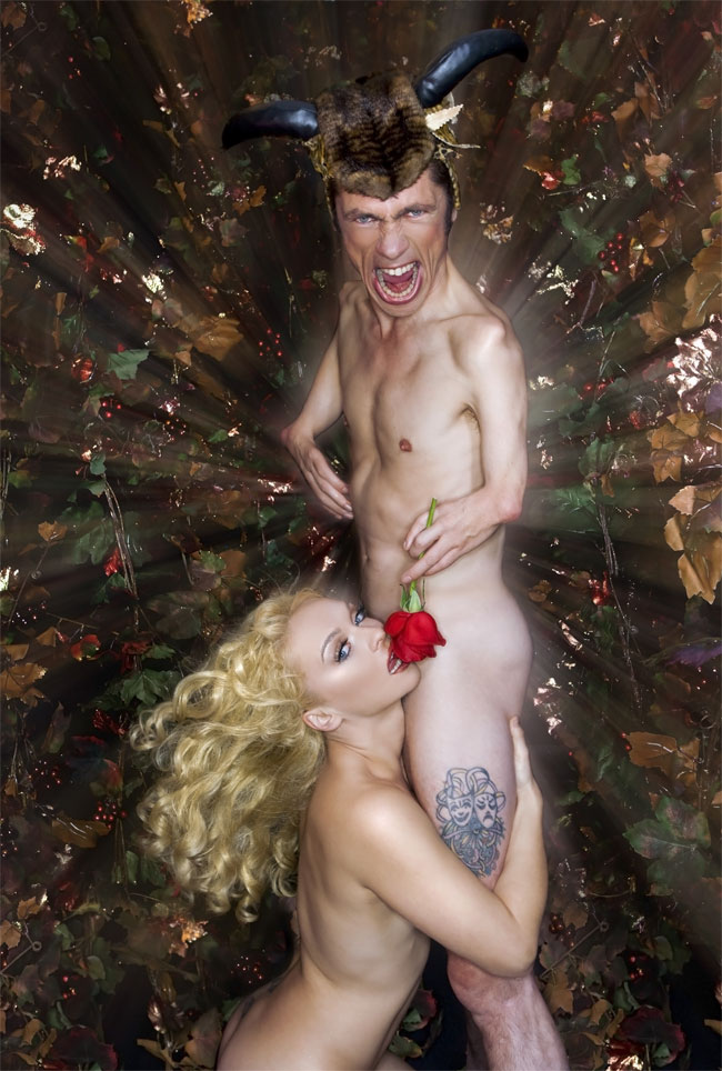 Julie Atlas Muz and Mat Fraser. ©Karl Giant (Exposed: Julie Atlas Muz and Mat Fraser)