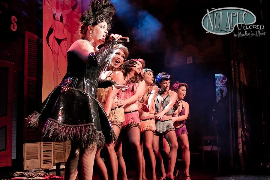 Cora Vette and the Va Va Vettes at the New Orleans Burlesque Festival 2013. ©Andreas Koch