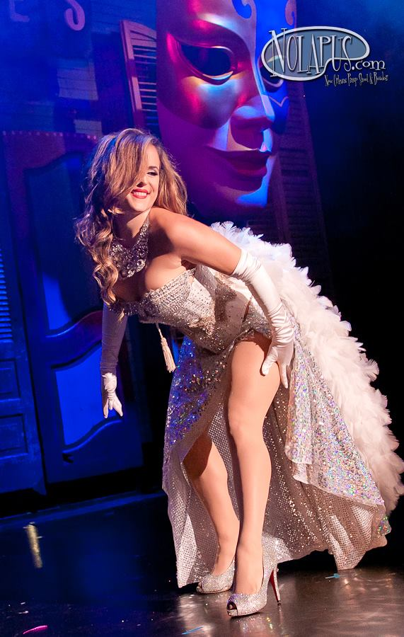 Elle Dorado at the New Orleans Burlesque Festival 2013. ©Andreas Koch