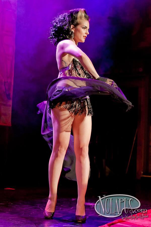 GoGo McGregor at the New Orleans Burlesque Festival 2013. ©Andreas Koch