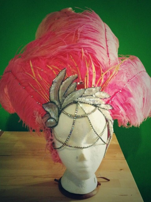 Behind every good headdress is a great visor.  ©Nasty Canasta