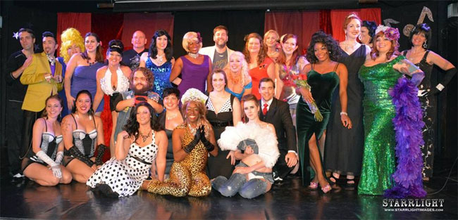 The Cast of the Alabama Burlesque Festival.  ©Starrlight Images