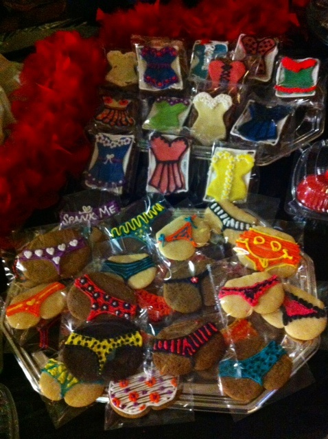 Goodies from Honeypie Bakery.  ©Ruby Joule (Alabama Burlesque Festival Diary)