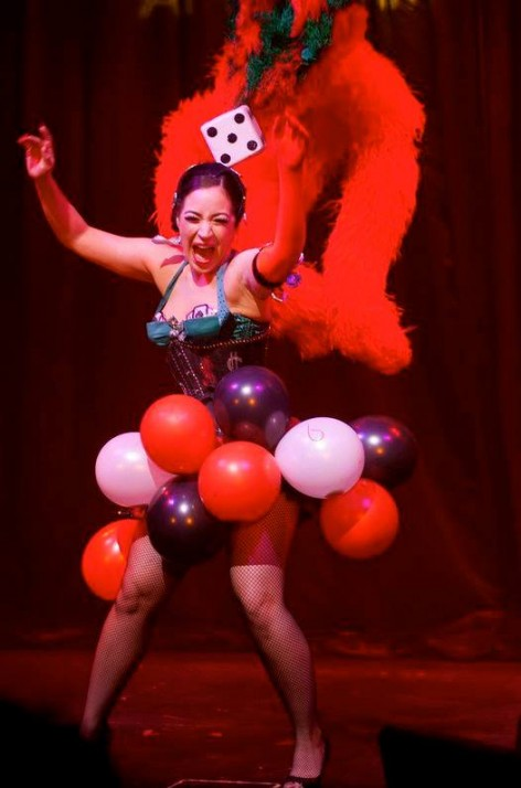Kitty Bang Bang. ©Soho Burlesque Club  (The Burlesque TOP 50 2013)