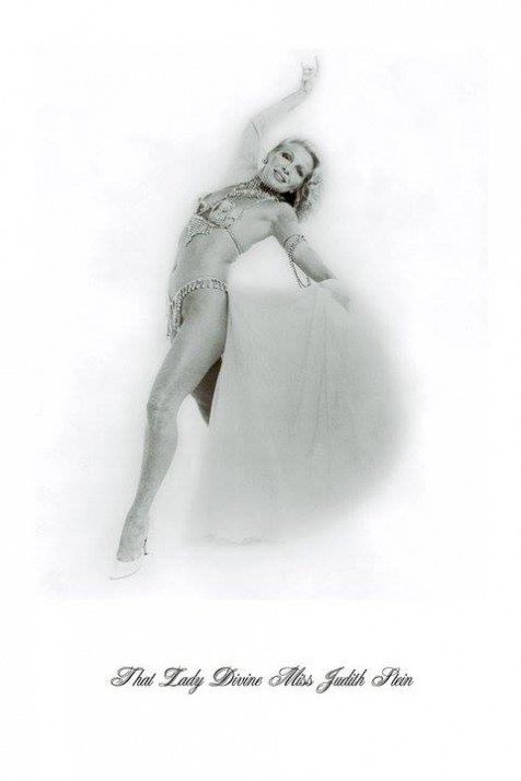 Burlesque Legend Judith Stein.