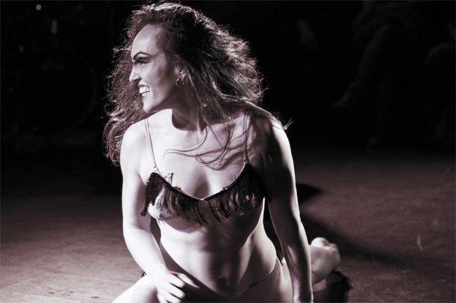 Punani Difranco. ©Andy Gryn  (Burlesque as a Feminist Act)
