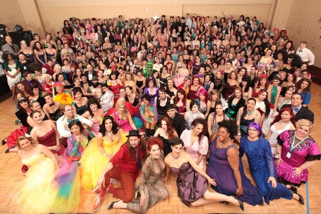 The BurlyCon class photo in 2013.  ©Don Spiro