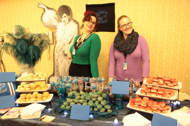 Sweet treats on offer at BurlyCon 2013.  ©Don Spiro