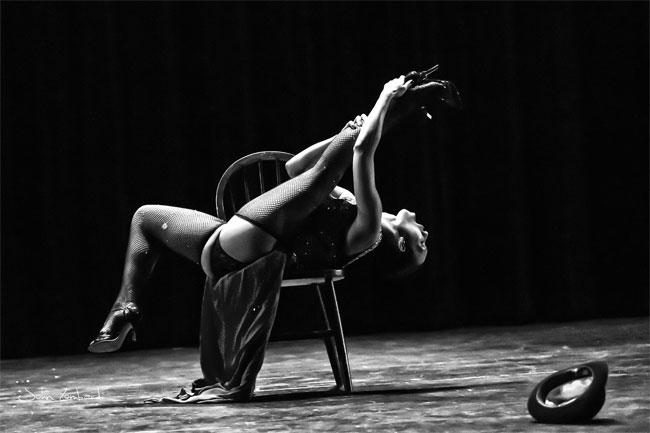Vivienne le Detruire at Diversi-Tease 2014.  ©John Lombardi