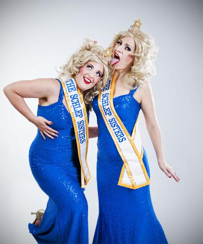 Schlep Sisters Minnie Tonka and Darlinda Just Darlinda. ©Ben Trivett