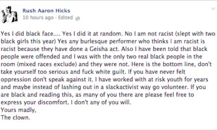 Slipper Room Owner James Habacker Comments on Rush Aaron Hicks 'Blackface' Incident