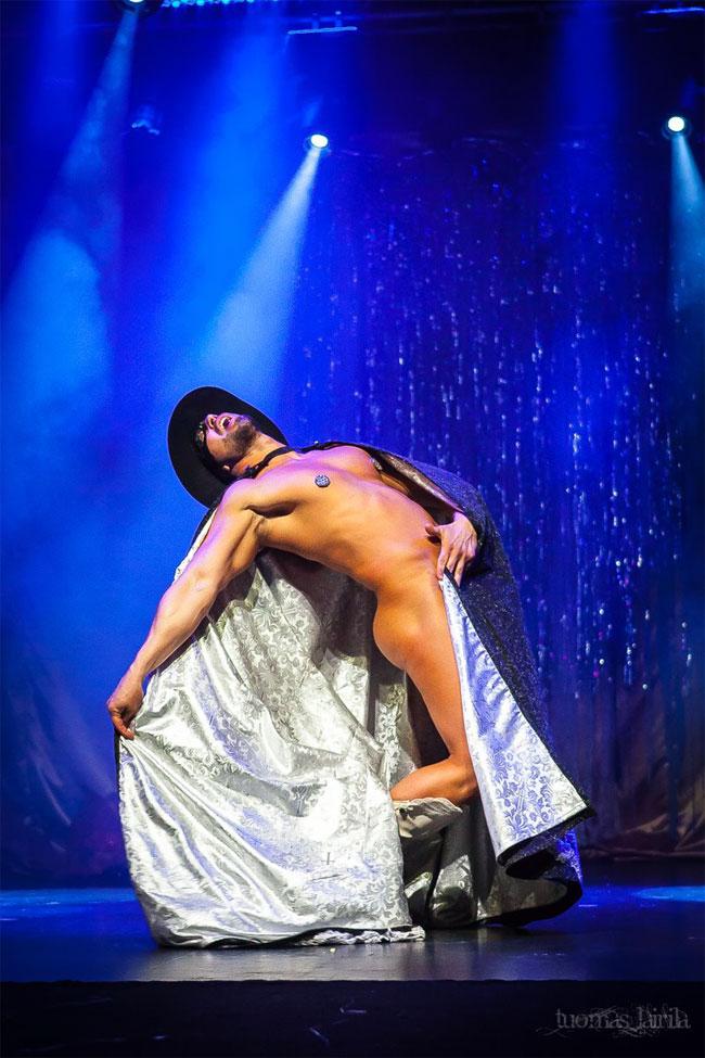 Jett Adore at the Helsinki Burlesque Festival 2014.  © Tuomas Lairila
