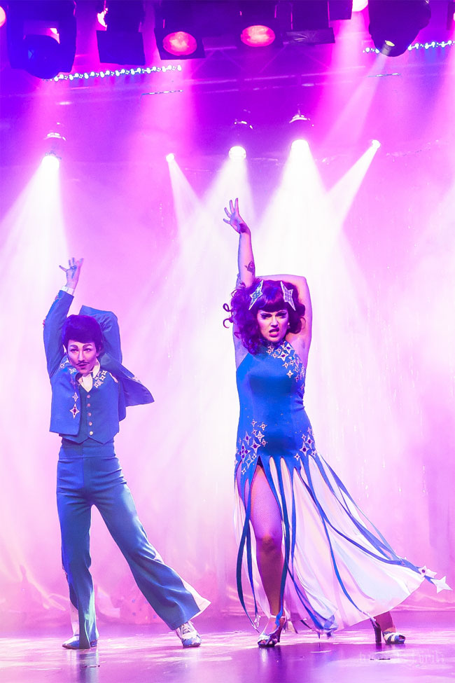 Kitten 'n' Lou at the Helsinki Burlesque Festival 2014. ©Tuomas Lairila