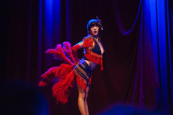 Midnite Martini at the Dallas Burlesque Festival 2014. ©Karlo X Ramos/karloxramos.com