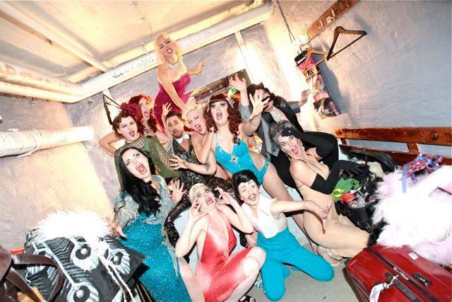 Showgirls Gone Wild!: The cast of the Helsinki Burlesque Festival 2014.  ©Neil Kendall