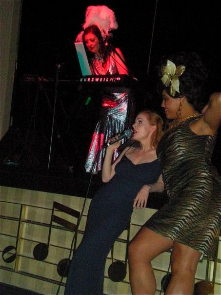 "Sydni Deveraux:""The moment I met my mentor Catherine D'Lish and sang with her at BHoF 2009."""