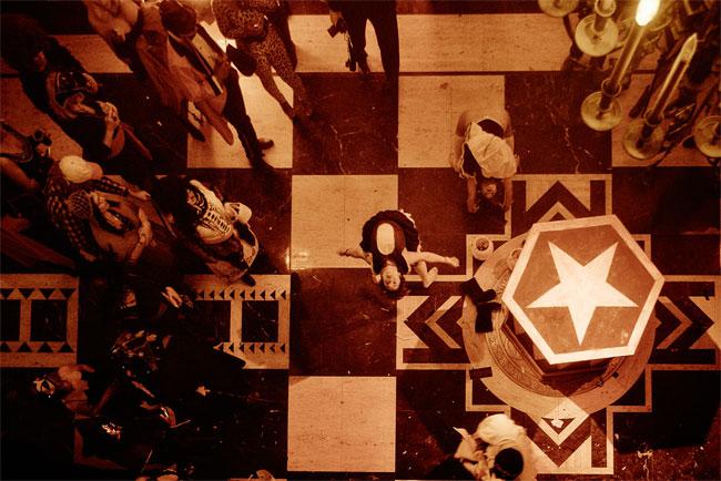Theatre Bizarre: The Procession at the Masonic Temple, Detriot. ©CP