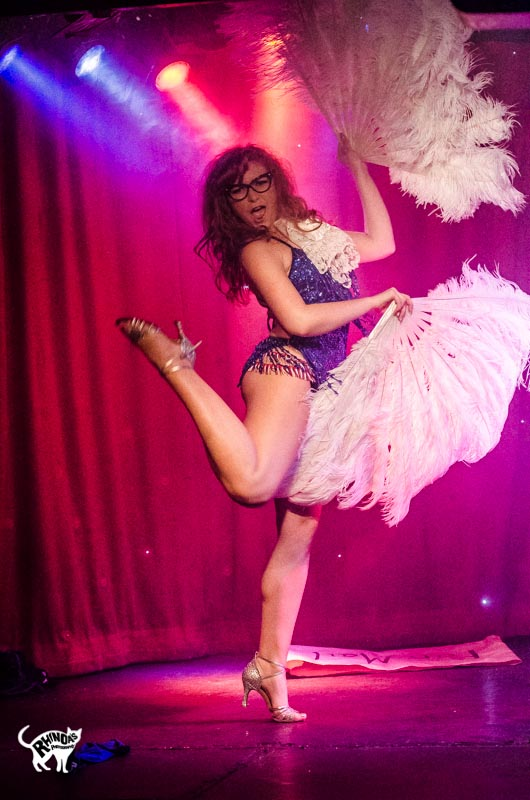 Felicity Furore in Cabaret Roulette. ©Rhinoa's Photography