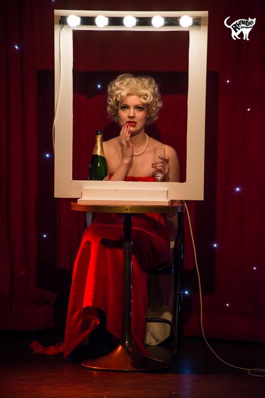 Scarlett Belle in Cabaret Roulette. ©Rhinoa's Photography