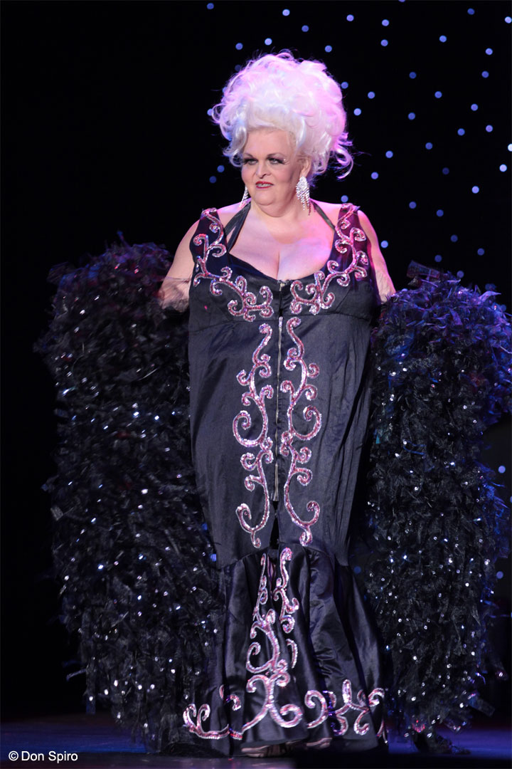 Big Fannie Annie at the 57th Annual Titans of Tease Reunion Showcase at the Burlesque Hall of Fame Weekend 2014. ©Don Spiro