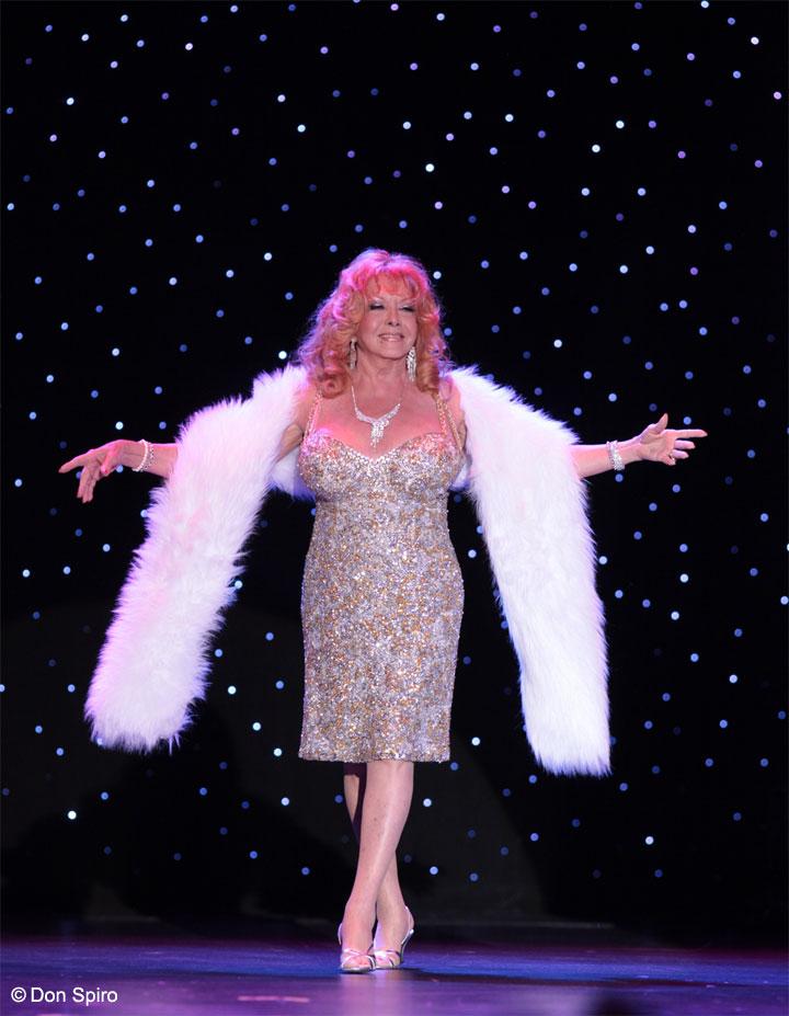 Gina Bon Bon at the 57th Annual Titans of Tease Reunion Showcase at the Burlesque Hall of Fame Weekend 2014. ©Don Spiro