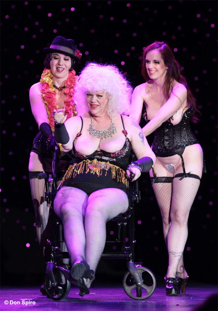 at the 57th Annual Titans of Tease Reunion Showcase at the Burlesque Hall of Fame Weekend 2014. ©Don Spiro
