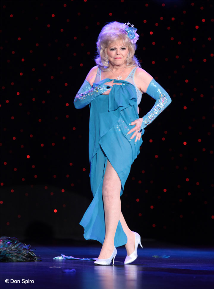 Penny Starr Sr. at the 57th Annual Titans of Tease Reunion Showcase at the Burlesque Hall of Fame Weekend 2014. © Don Spiro