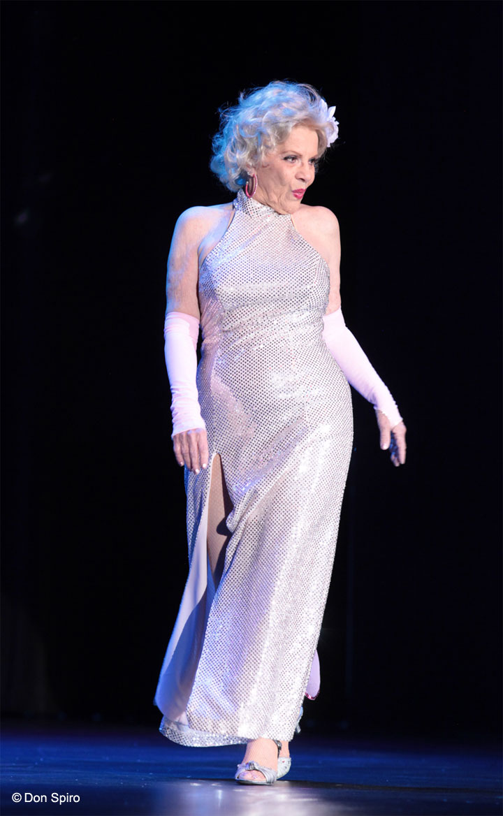 Val Valentine at the 57th Annual Titans of Tease Reunion Showcase at the Burlesque Hall of Fame Weekend 2014. ©Don Spiro