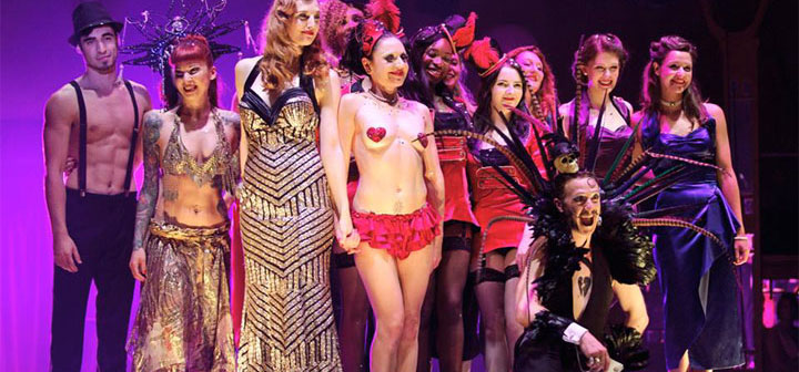 Review: Cirque du Cabaret (London Wonderground 2014)