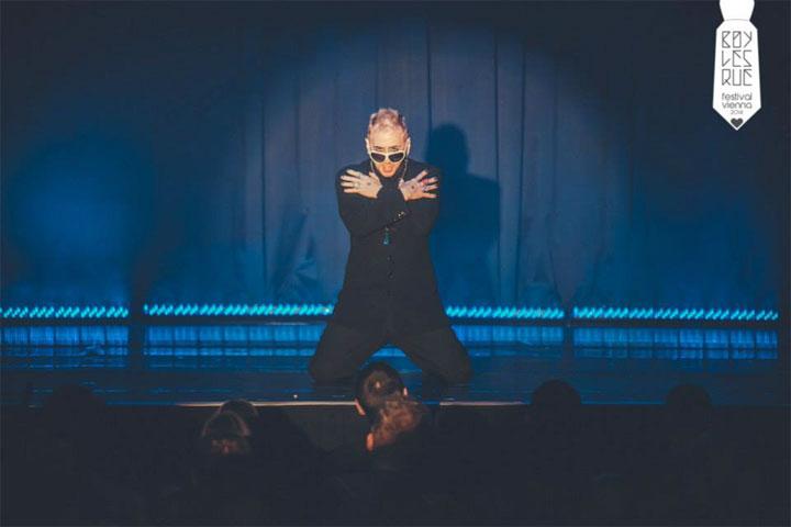 Tigger! at the Vienna Boylesque Festival 2014. ©Philipp Lipiarski
