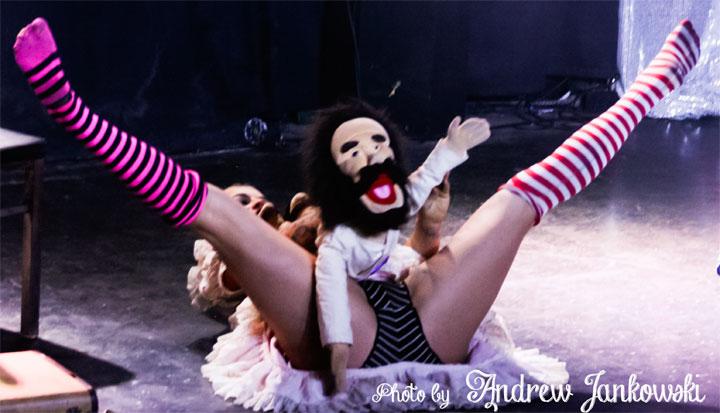 Ivizia at the Oregon Burlesque Festival.  ©Andrew Jankowski