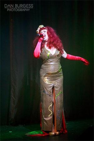 The Divine Miss Em in Pandora's Box at the Hippodrome Casino, London.  ©Dan Burgess