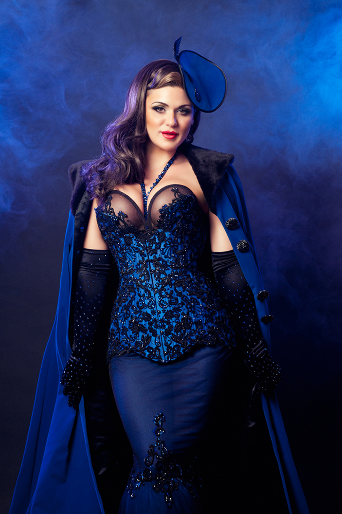 Roxi D'Lite in her 'Easy Street' costume by Christina Manuge of Manuge Et Toi. ©Dana Brushette