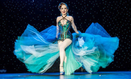 Burlesque Hall of Fame Tournament of Tease: Miss Exotic World, Reigning Queen (BHoF 2014)