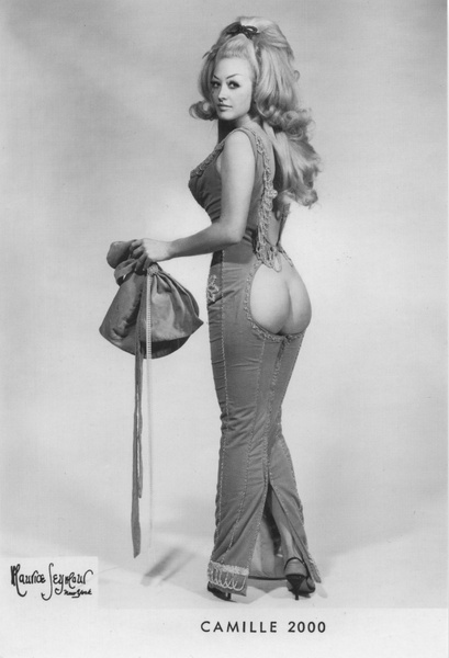 Burlesque legend Camille 2000.