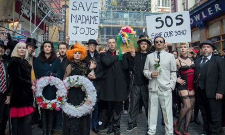 The Madame Jojo's Peace Vigil in Words, Photos and Video.