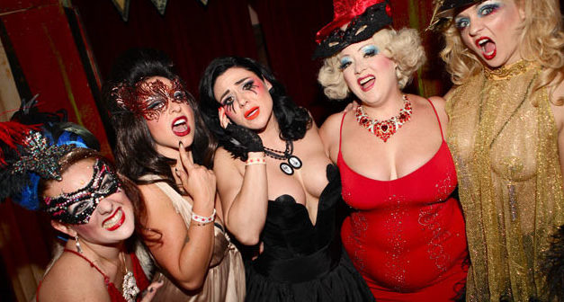 Burlesque Queens at Theatre Bizarre 2014: A Fiendish Fairytale