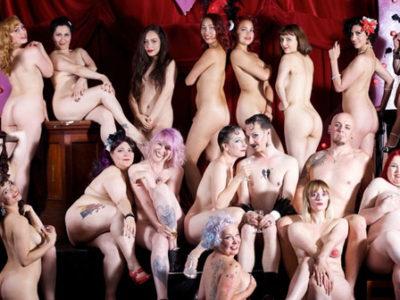 London Burlesque Stars Go Fully Nude for Cancer Charity Calendar (NSFW)