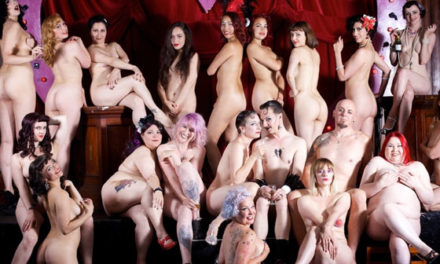 London Burlesque Stars Go Fully Nude for Cabaret Charity Calendar (NSFW)