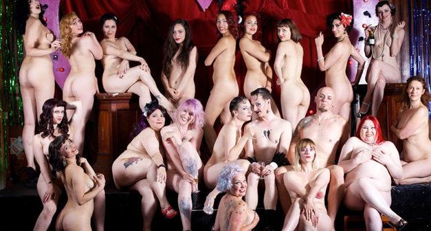 London Burlesque Stars Go Fully Nude for Cabaret Charity Calendar (NSFW)
