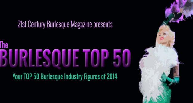 Burlesque TOP 50 2014: TOP 10 Australia