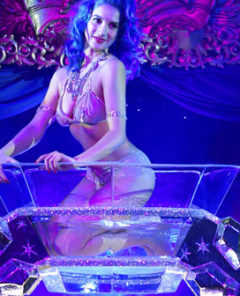 Review: Sukki Singapora Debuts Diamond Ring Burlesque Act at Cafe de Paris