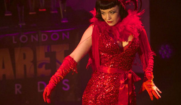 London Cabaret Awards: Polly Rae and Bettsie Bon Bon Shine at Ceremony